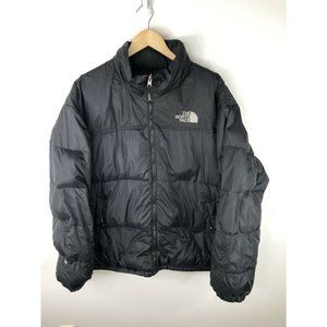 Down Puffer Jacket Mens XL Black Winter